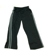 Champion Track Pants Men's Size Large Black Gray Straight Athletic Leisu... - $23.53