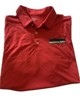 Nike Dri-Fit Men's Red Golf Polo Williams Equipment & Supply Size M - $20.42