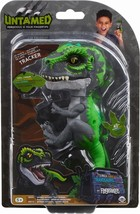 Untamed T-Rex by Fingerlings – Tracker (Black/Green) - Interactive Colle... - $19.99