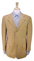 * ERMENEGILDO ZEGNA * Gold Woven Wool 3-Btn Sportcoat Blazer 38S - $66.50