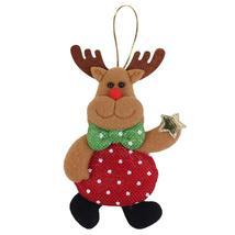 (03)1PCS Christmas Ornaments Christmas Tree Santa Claus Pendants Drop Ch... - $14.00
