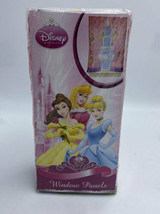 NEW Disney Princess Walk In The Park Window Panels Tie Back Pair Pink Purple - $16.99