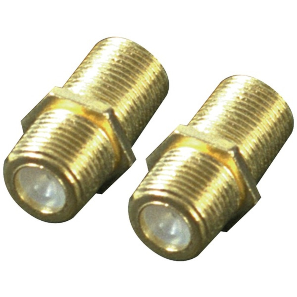 Primary image for RCA VH66R In-Line F-Connectors, 2 pk