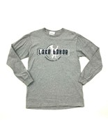 VINTAGE Lake Tahoe Long Sleeve T-Shirt DISCOVERED 1944 Gray Heather Adul... - $26.38