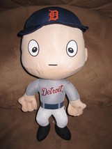"DETROIT TIGERS BIG HEAD PLUSH PLAYER Brand New 2015 MLB Licensed 13"" RAL... - $11.99"