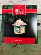 HALLMARK Ornament 1992 New Home   Mouse in Cupcake Mice NIB - $11.88