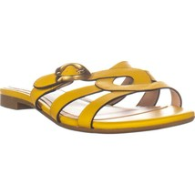 Coach Kennedy Slide Flat Strappy Sandals, Canary, 9 US - $44.15