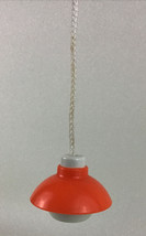 Little Tikes Blue Roof Dollhouse Hanging Lamp Light Replacement Parts Vintage - $12.82