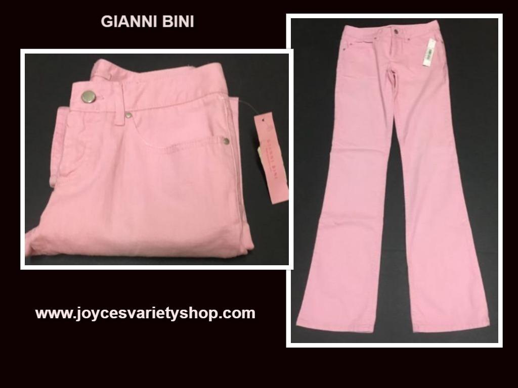 Gianni bini pink jeans web collage