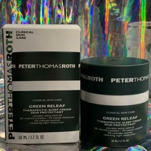 NIB Peter Thomas Roth GREEN RELEAF Therapeutic Sleep Cream 2% Retinoid RV$65