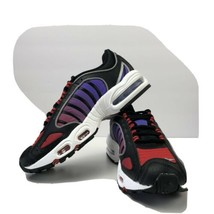 Nike Womens Air Max Tailwind 4 Shoes Black-White-Red-Purple CQ9962-001 S... - $72.93