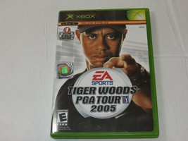 EA Sports Tiger Woods Pga Tour 2005 Xbox E-Everyone Online Habilita Segu... - $16.03