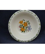 """Thomson Floral Garden 7"""" Soup Bowl Yellow Daffodil Flowers - $9.99"""