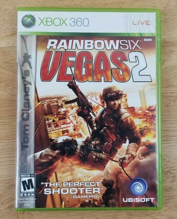 Tom Clancy S Rainbow Six Vegas 2 Microsoft And 50 Similar Items
