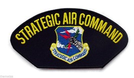 "Air Force Strategic Air Command Sac Embroidered Military 6"" Patch - $18.04"