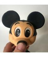 Vintage 1976 Mattel Mickey Mouse Pull String Talking Toy Walt Disney Fig... - $14.00