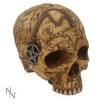 Salem Witch Witchcraft Skull Statue Figurine - $34.99