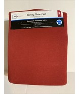 Mainstay Jersey Sheet set Size Full, With Two Standard Pillowcases - $24.23