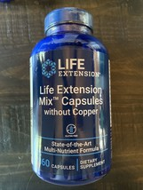 Life Extension Life Extension Mix™ Capsules without Copper 360 Caps- Exp 1/2023! - $54.22