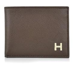 New Tommy Hilfiger Men's Classic Credit Card Id Wallet Billfold Brown 31TL22X019