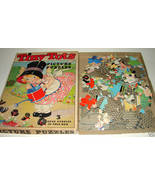 Antique Toy Game 1934 Whitman TINY TOTS Jigsaw Puzzle - $29.16