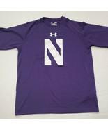 NWOT Northwestern Wildcats Under Armour Purple T-Shirt Medium New Withou... - $17.81