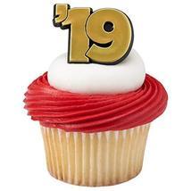 12 ct. '19 Graduation Cupcake Rings - $2.99