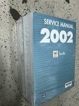 2002 Cadillac Siviglia Servizio Riparazione Negozio Officina Manuale Set... - $296.95