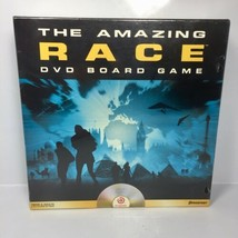 The Amazing Race ~ DVD Board Game ~ Sealed ~  Pressman Christmas Gift Ne... - $23.70