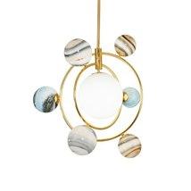 Nordic Wandering Earth Design Pendant Lights Minimalist Children Room Ch... - $999.00+