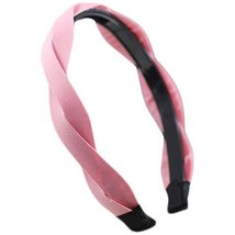Fashion Pure Headband Toothed Antiskid Hair Hoop Hair Accessories(Pink)