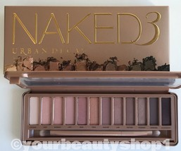 Brand New URBAN DECAY NAKED 3 Palette Eye Shadow 100%Authentic Priority ... - $54.22