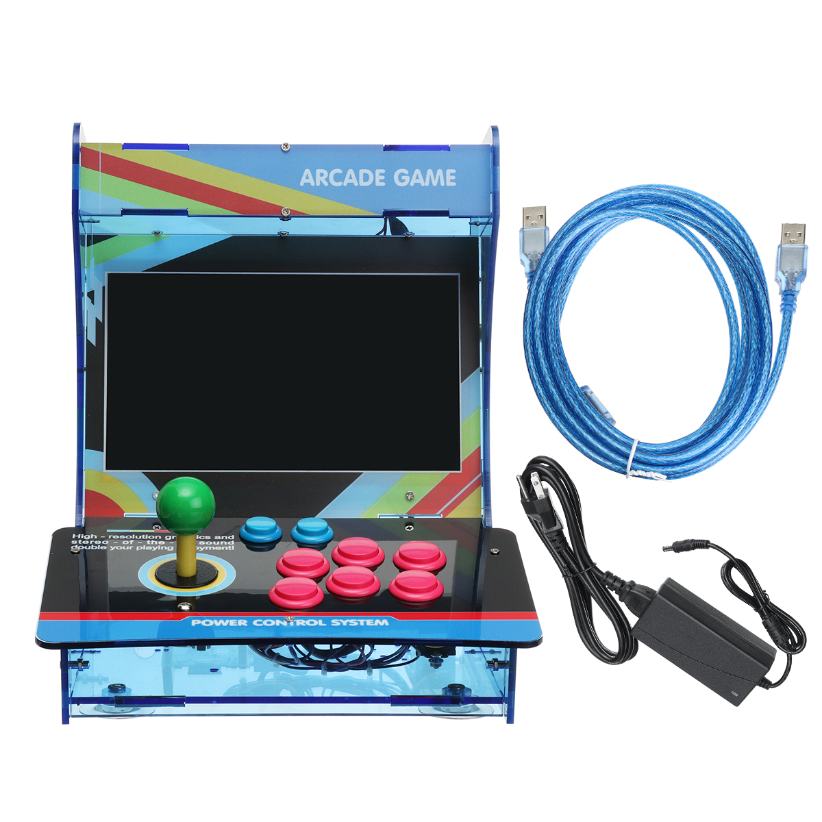 DIY Raspberry Pi 3 Model B Classic Retro Arcade Game Console With WIFI & Bluetoo
