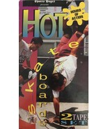 Hot Skate Boards- 2 VHS Set-Tested-Rare Vintage Collectible-Ship N 24 Hrs - $357.73