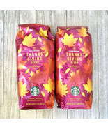 2 LB 2020 Starbucks Thanksgiving Blend Dark Roast Whole Bean EXP 05/2021 - $41.58