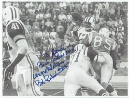 BOB PETRICH AUTOGRAPHED ON PHOTOCOPIED PICTURE PICTURE CHARGERS - BILLS NFL - £3.62 GBP
