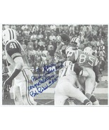 BOB PETRICH AUTOGRAPHED ON PHOTOCOPIED PICTURE PICTURE CHARGERS - BILLS NFL - $4.98