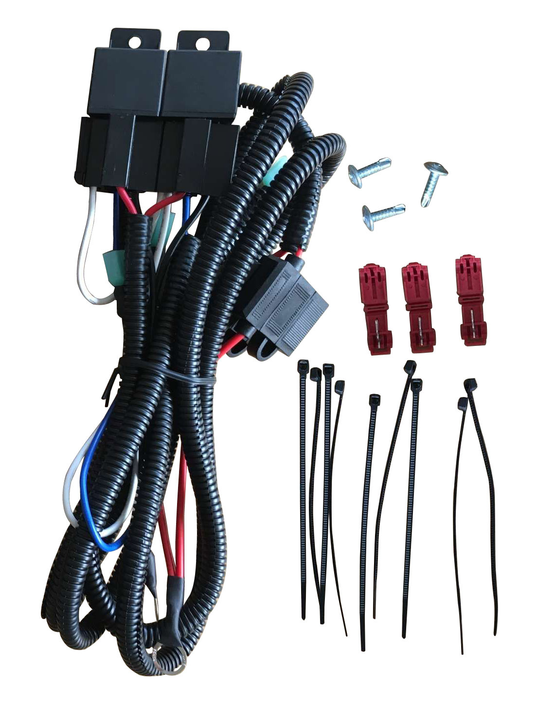 03 06 chevy gmc headlight wire harness kits