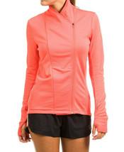 adidas Women's Supernova Climaheat Wrap Jacket - easy coral/black - $95.35