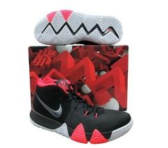 "Nike Kyrie 4 Black Crimson Basketball Shoes 10 Mens ""41 for the Ages"" 94... - $84.14"