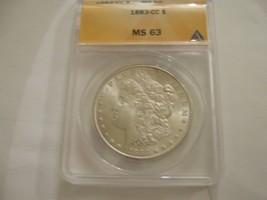 1883 CC ,  Morgan Dollar , MS 63 , Anacs Certified - $350.00