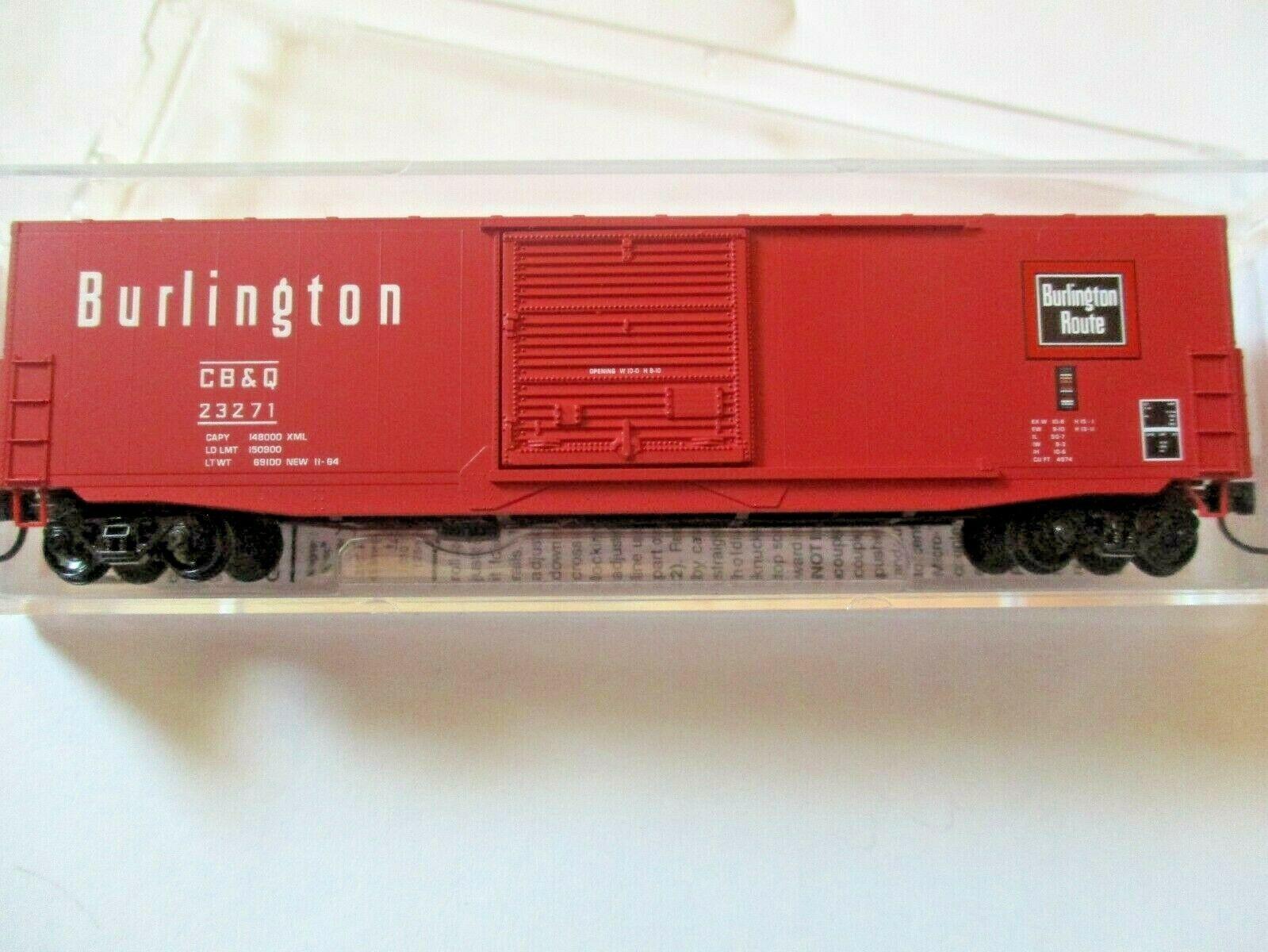 Micro-Trains # 18000210 Chicago Burlington & Quincy 50' Standard Boxcar N-Scale