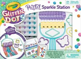 Crayola Glitter Dots Pastel Sparkle Station Craft Kit - $25.73