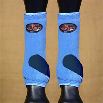 Medium Hilason Horse Front Leg Protection Ultimate Sports Boot Blue Navy U-VY-M - $49.95