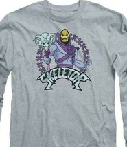 Skeletor Masters of the Universe Retro 80's Animated series long sleeve DRM104B image 2
