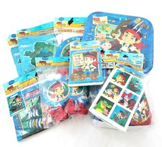 Jake And Neverland Pirates Birthday Party Supply Set Lot Supplies 8 Guests NEW - $34.48