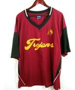 USC TROJANS OVB Varsity Brand College LOGO Varisty heavy cloth t-shirt 2x T - $29.65