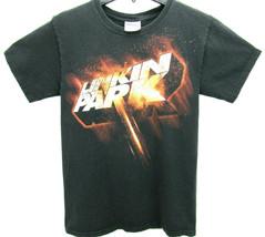 Linkin Park Men's Size Small T Shirt Black Disressed Rock - $15.95
