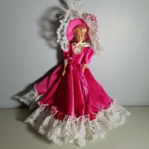 Barbie Doll Southern Belle Pink Dress and Hat No Shoes - $19.99