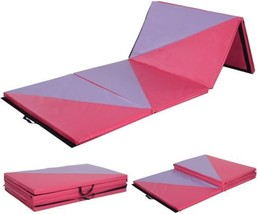 4'x10'x2'' Gymnastics Mat Thick Folding Panel Gym Home Exercise Workout ... - $137.57